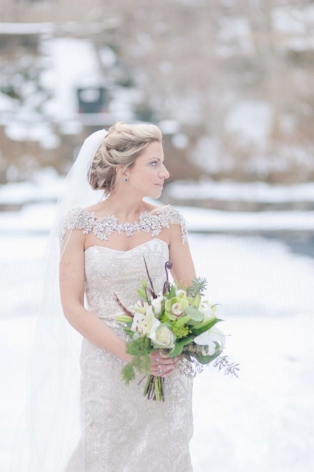 Stunning Shoulder Jewellery Bridal Capes for 2016 weddingsonline