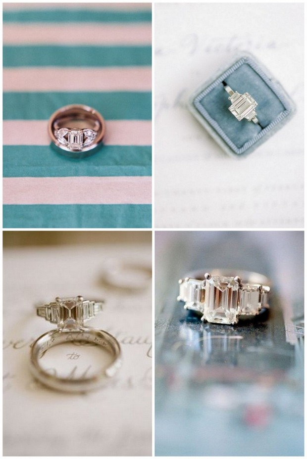 engagement ring styles 2016 emerald cut three stone - Prettiest Wedding Rings