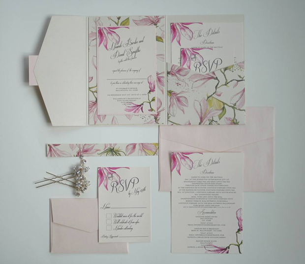 floral-wedding-invitation-steph's-personalised-cards