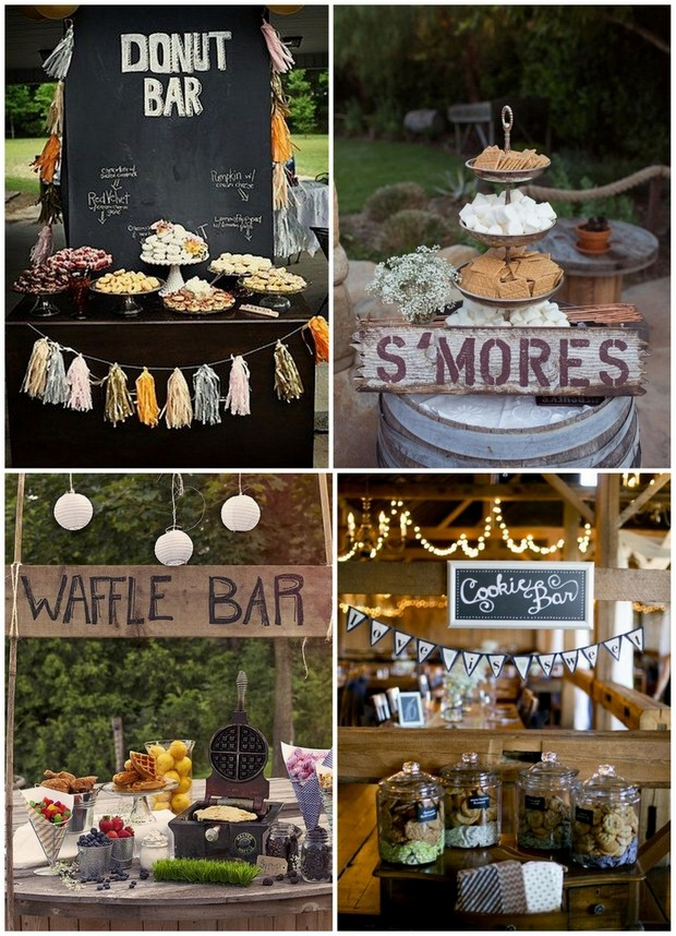 15 Wedding Food Stations Your Guests Will Love Weddingsonline