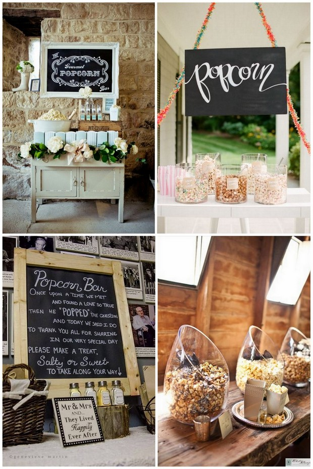 foodie-wedding-bar-popcorn-station
