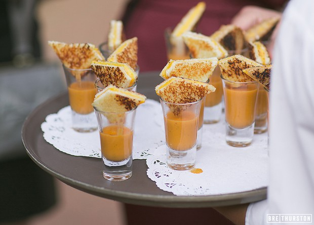 fun-wedding-food-canape-ideas-cheese-toasties-soup