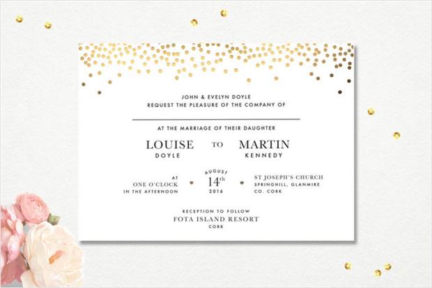 gold-confetti-wedding-invitation-applberry-press