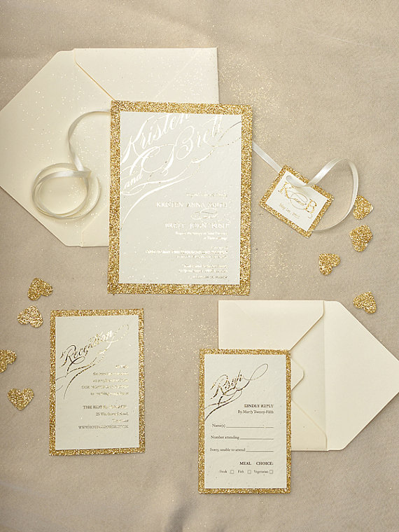 gold-glitter-wedding-invitation-4lovepolkadots