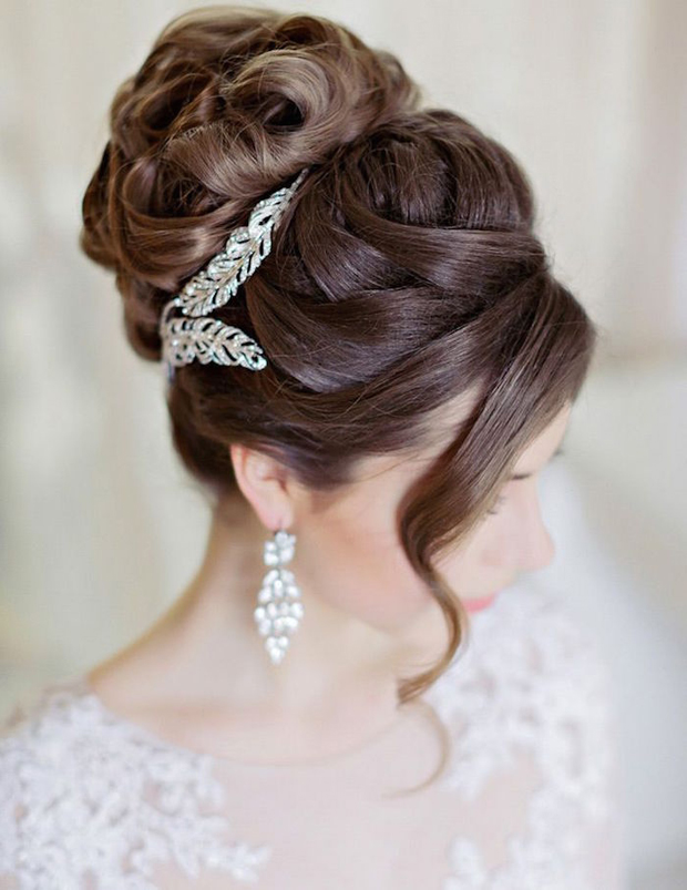 16 Romantic Wedding Hairstyles For 20162017 Brides Weddingsonline