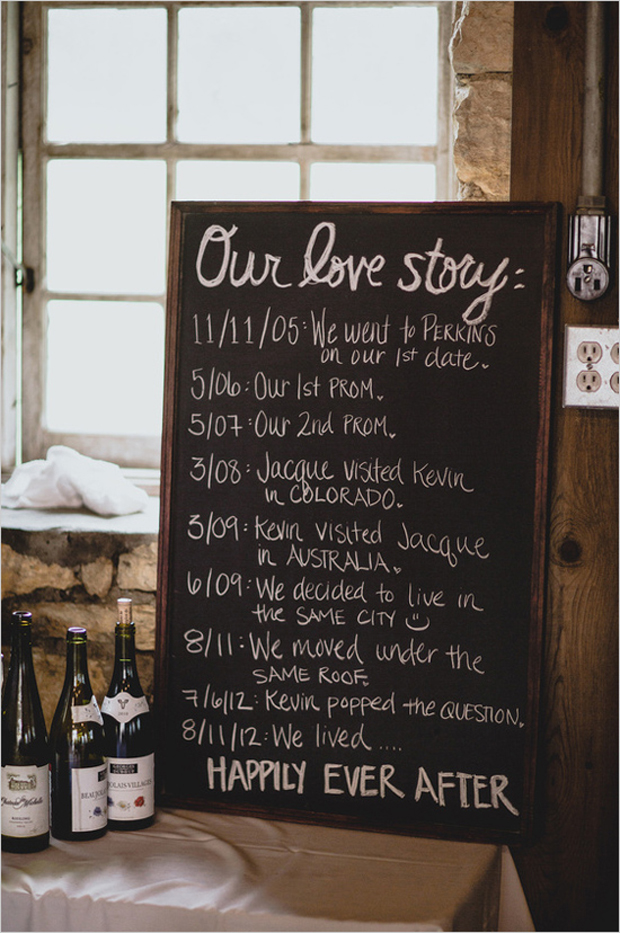 our-love-story-wedding-sign-romantic-touches-for-your-wedding