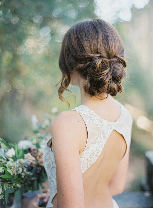 Romantic Bridal Hairstyle : Romantic wedding hairstyles for  brides