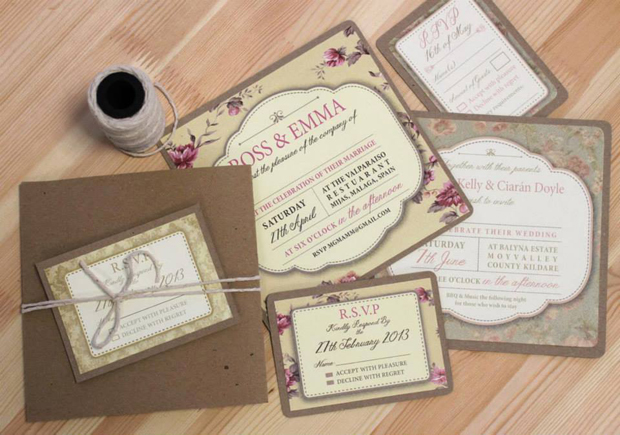 rustic-florasl-kraft-paper-wedding-invitation