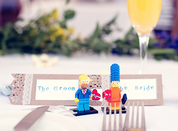 simpsons-lego-place-card-wedding