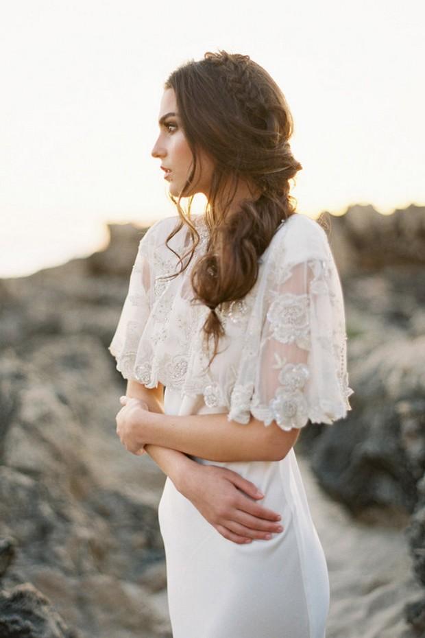 sparkly-beaded-bridal-cape-cover-up-bridelaboheme-weddingsonline