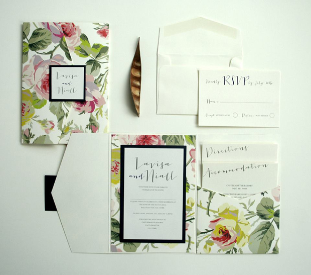 steph's-personalised-cards-floral-wedding-invitation