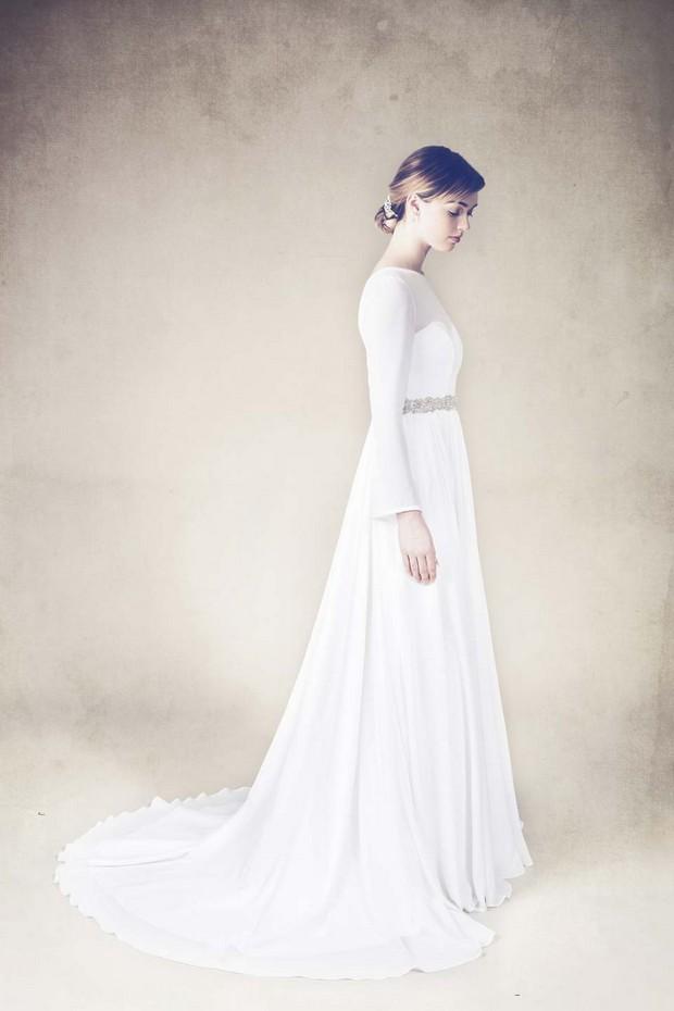 tamem-michael-tmcouture-simple-sheer-sleeve-elegante-vestido de novia