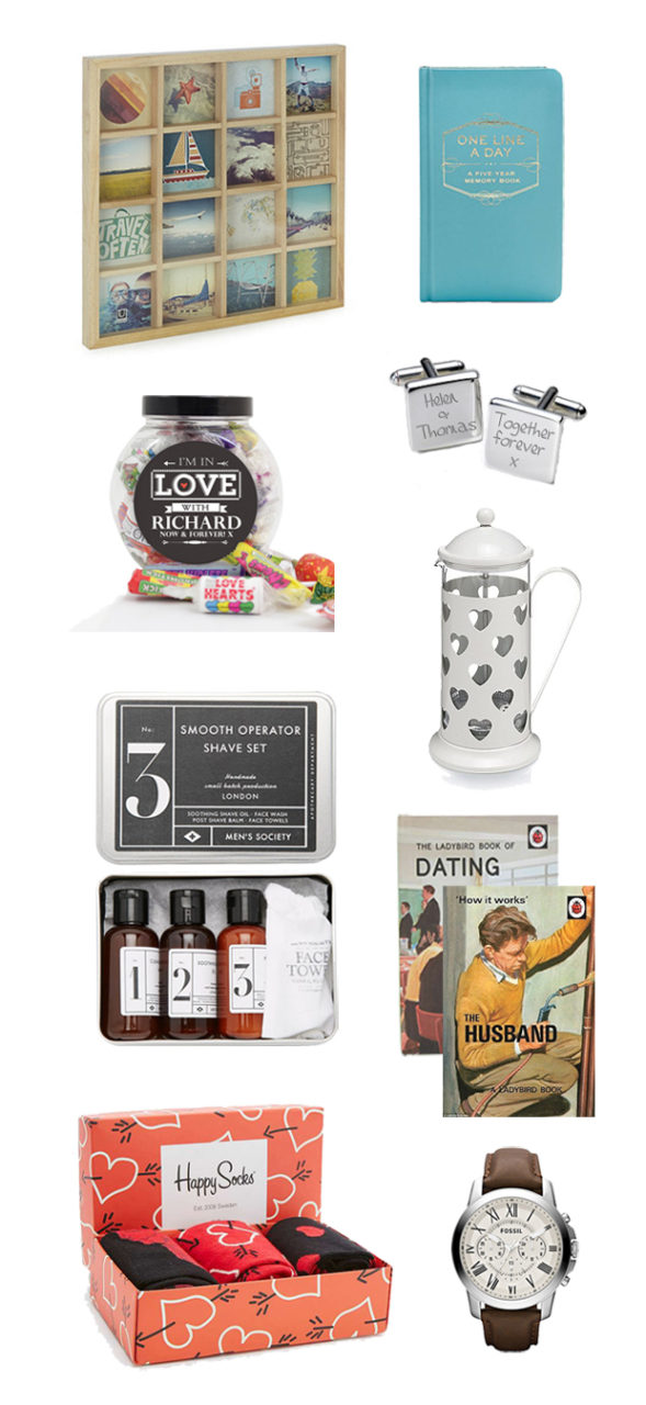 gift ideas for man im dating