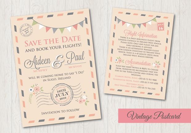 vintage-postcard-wedding-invitation-spalsh-graphics