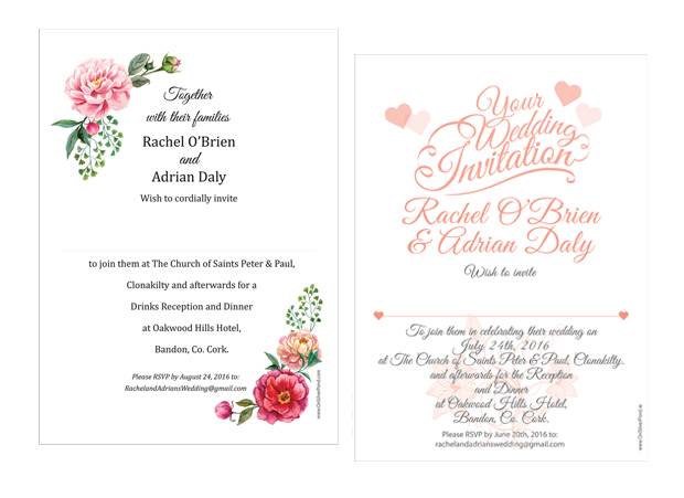 wedding-invites-on-silver-pond