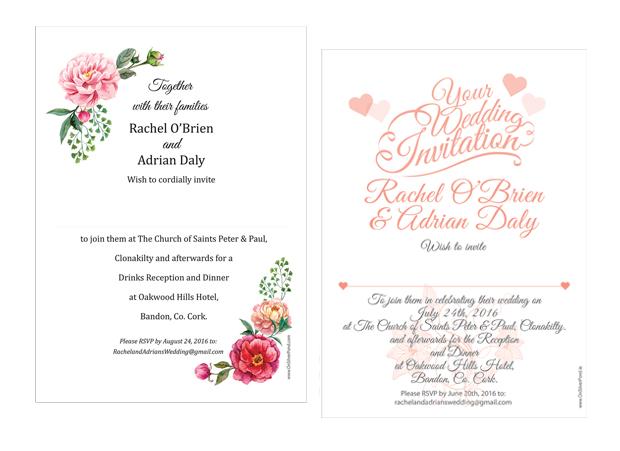 wedding-invites-on-silver-pond