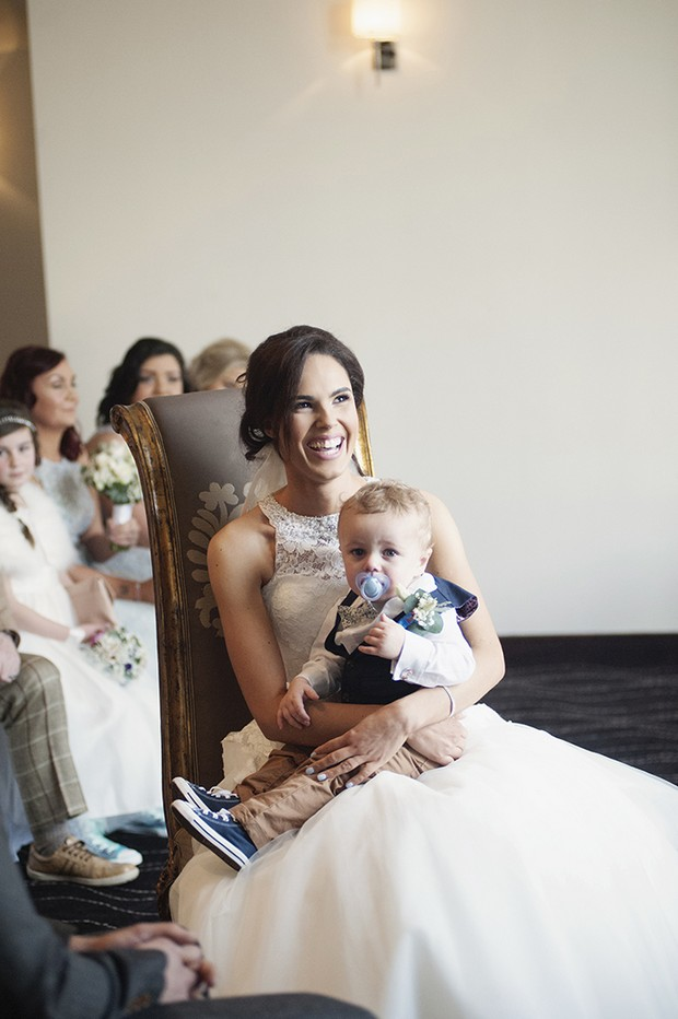 23-Real-Bride-with-Baby-Son-Wedding-Ceremony
