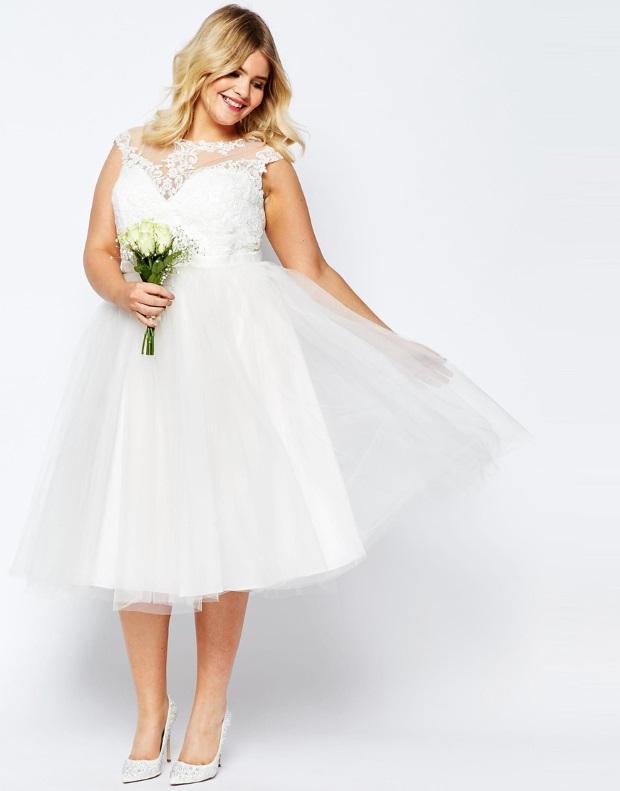 Budget friendly bridal introducing the wedding dress for Midi length wedding dress