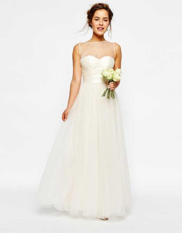 Budget friendly bridal introducing the wedding dress for Petite bride wedding dress