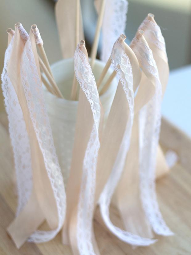 12 brilliant diy wedding projects weddingsonline for Wedding wands