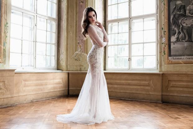 Daarlarna-Colección-de-vestidos-de-novia-Diseñador-estilo-trompeta-de-encaje-completo