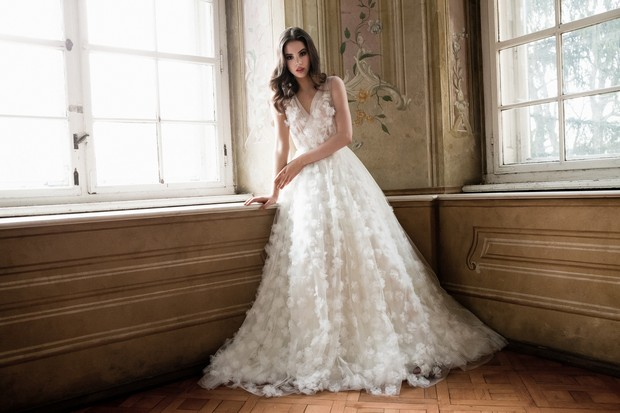 Wedding Gowns Online: It's Finally Here! The Daalarna Couture Flowers Collection