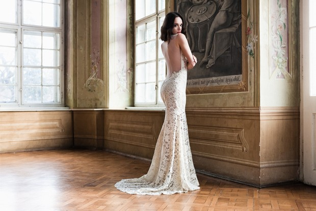 Low Back Lace Wedding Gown: It's Finally Here! The Daalarna Couture Flowers Collection