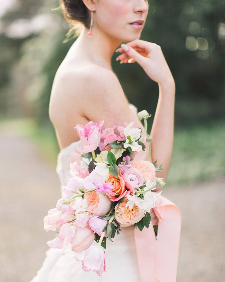 Purple And Pink Wedding Flowers: 14 Fresh & Fabulous Spring/Summer Wedding Bouquets