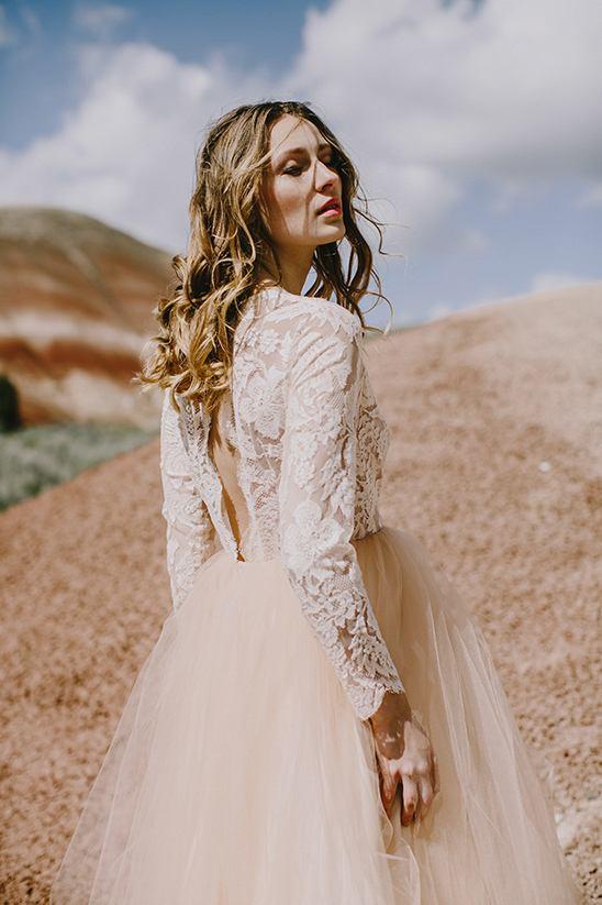 Spring-Off-White-Wedding-Dress-Lace-Long-Sleeves-Tulle-Skirt-Elizabeth-Dye