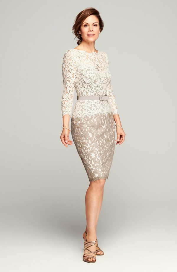 Stylish-Neutral-Tone-Mother-of-the-Bride-Lace-Dress-Nordstrom