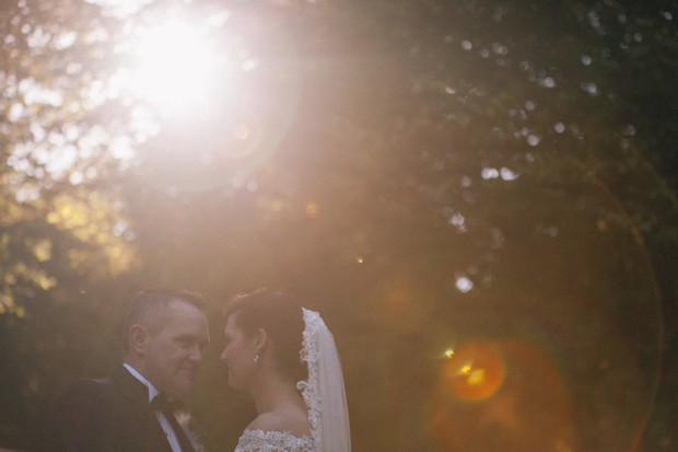 bride-and-groom-sunlight