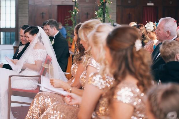 bride-groom-laughing-church