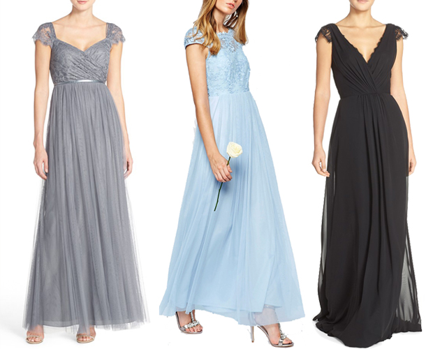 bridesmaid-dresses-with-lace-cap-sleeves