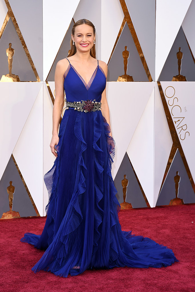 Mandatory Credit: Photo by David Fisher/REX/Shutterstock (5599371cb) Brie Larson 88th Annual Academy Awards, Arrivals, Los Angeles, America - 28 Feb 2016