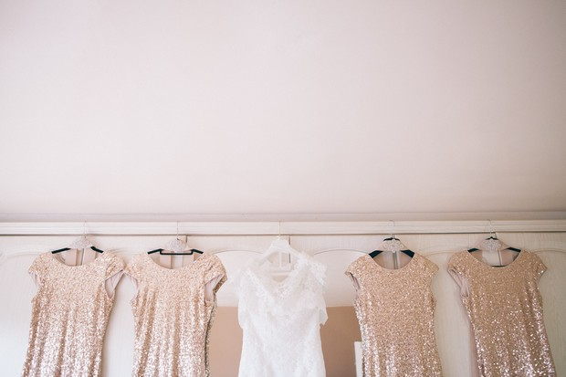 glittery-bridesmaid-dresses-wedding