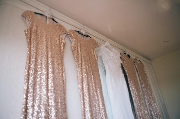 glittery-gold-bridesmaid-dresses-boyne-hill-house-estate-wedding