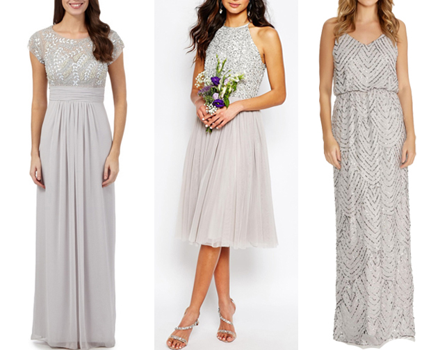 How To Embellish Simple Wedding Dresses: 18 Glamorous Embellished Bridesmaid Dresses