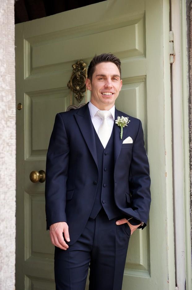 16-Real-Groom-Wedding-Three-Piece-Navy-Suit-weddingsonline