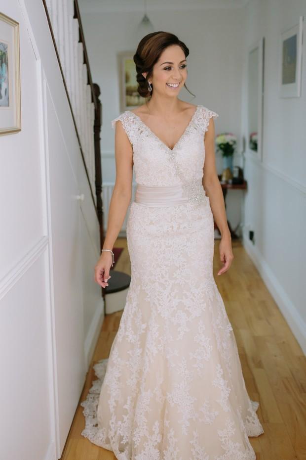 17-Mori-Lee-lace-v-neck-mermaid-wedding-dress-wide-belt-real-bride