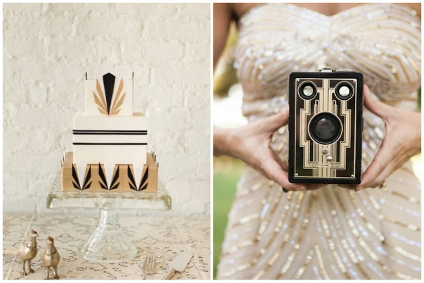 Channeling the Great Gatsby: Your Art Deco Wedding Theme ...