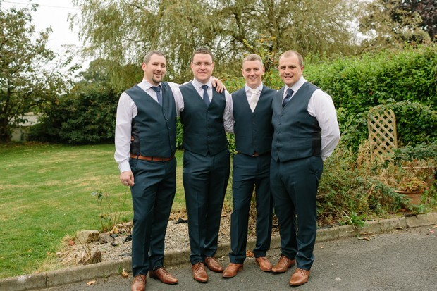 2-groomsmen-three-piece-grey-suits-wedding-style