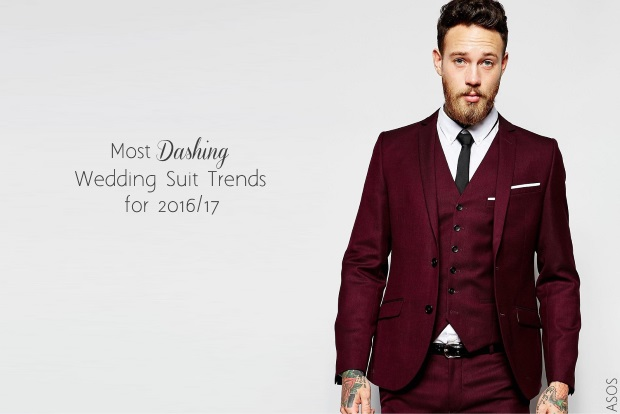 5 Dashing Wedding Suit Trends For 2016 2017 And Where To Buy Them Weddingsonline