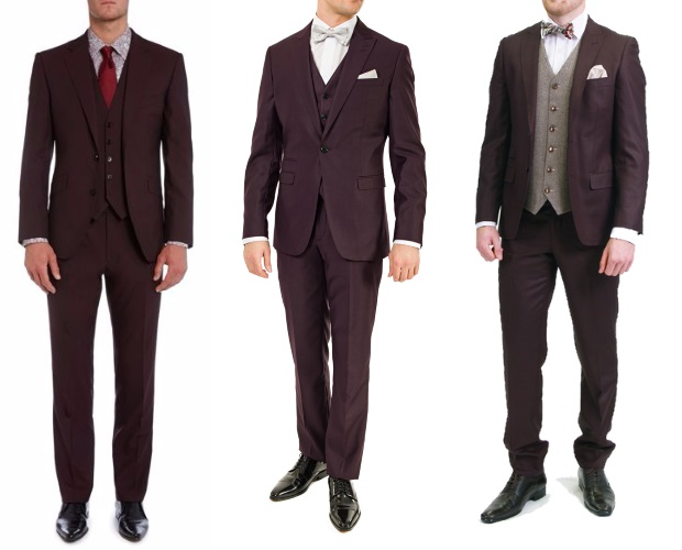 Burgundy-Wedding-Suit-Trends-2016-2017-Ireland-weddingsonline