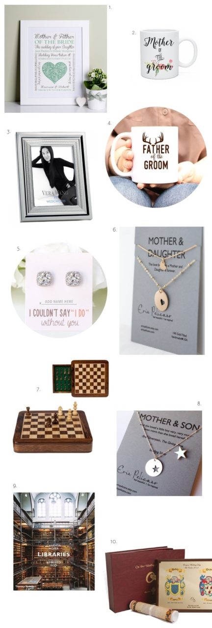 Wedding Gifts For Brides Parents : 10 Great Wedding Gifts for Parents weddingsonline