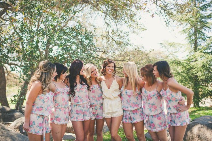 1bc557823 21 Amazing Bridal Robes & Bridesmaids PJs to Buy Now! | weddingsonline