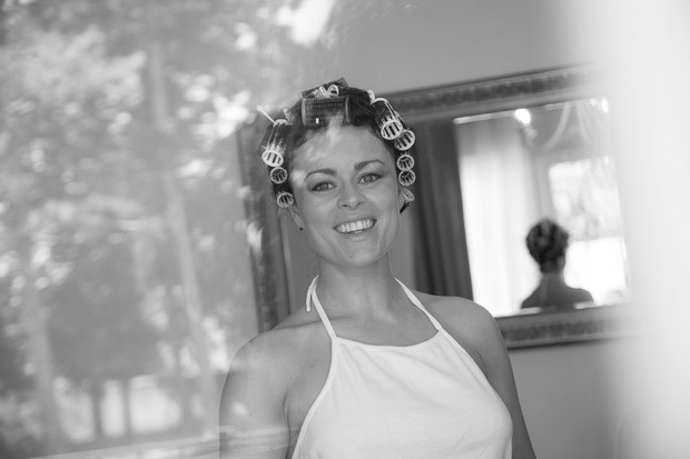 bride-in-rollers