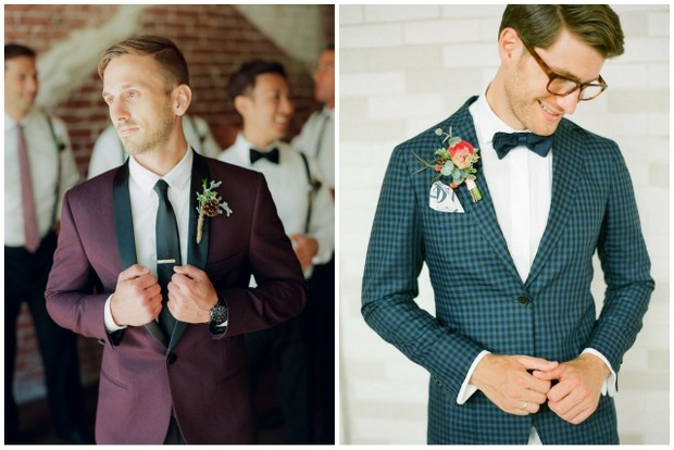 18 Der Grooms To Inspire Your Stylish Wedding Suit