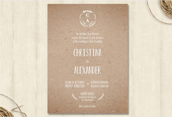 monogram-wedding-invitation-appleberry-press