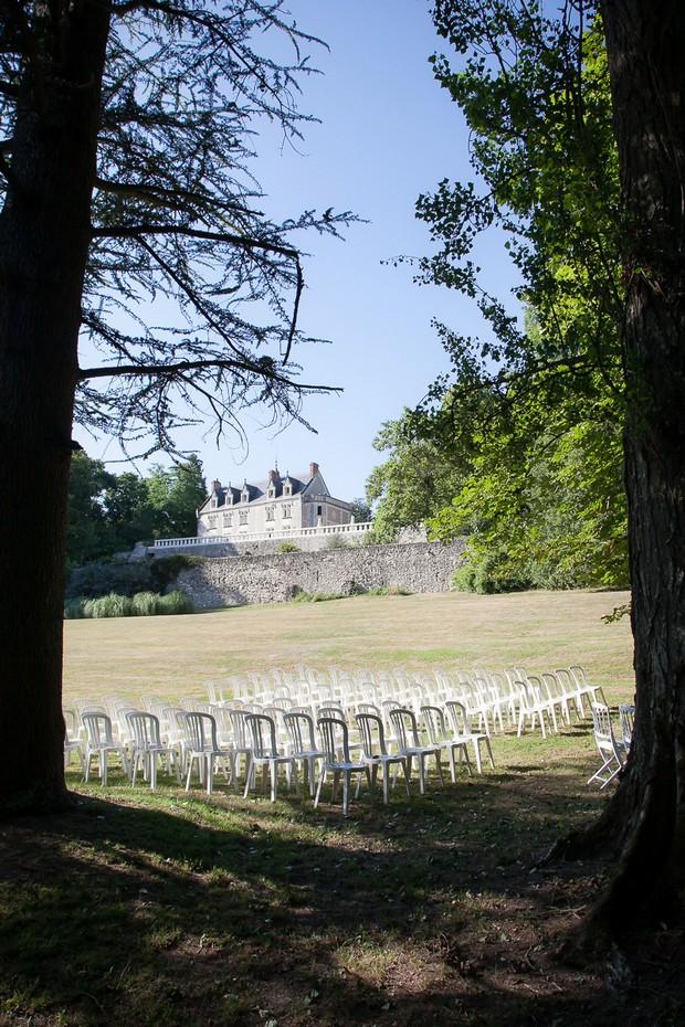 outdoot-ceremon-area-at-Vaugrignon-Castle
