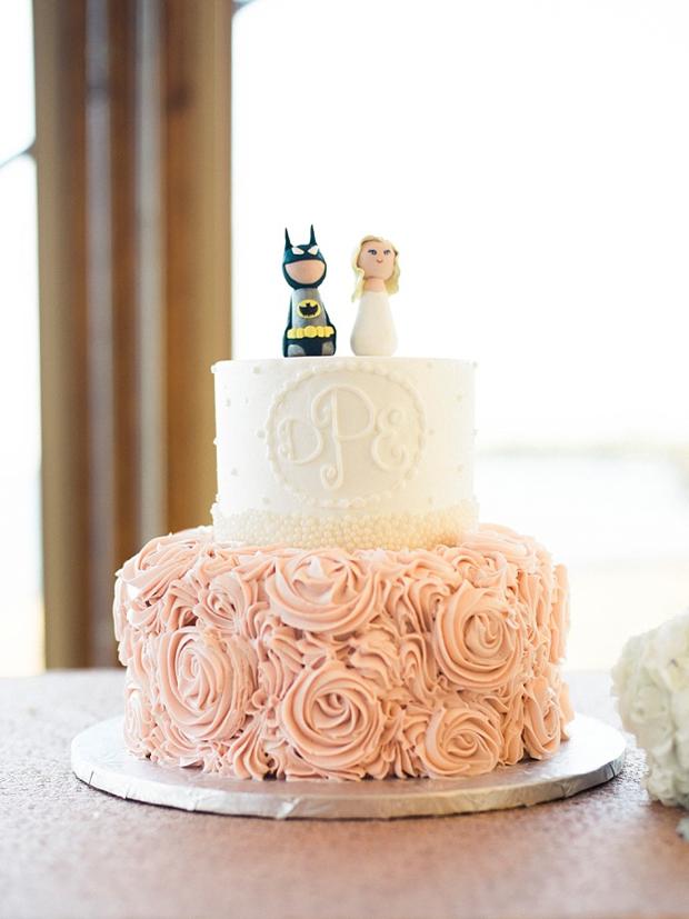 Personalised Cake Topper Batman Bride
